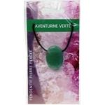 Pendentif pierre ovale percée - Aventurine Verte  32240