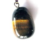 Petit Pendentif en Oeil de Tigre ( 2 cm )  9051