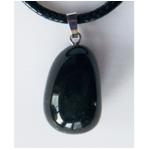 pendentif onyx pierre roulée