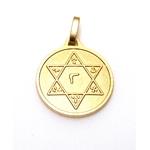 Médaille Sceau de Salomon dorée  689 (1)