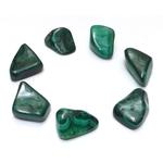 Malachite roulée - La pièce ( 4 cm )  40543 (1)