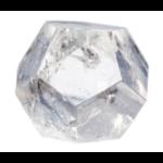 Dodécaèdre en Cristal de roche ( 4.5 cm )  33764 (1)