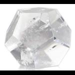 Dodécaèdre en Cristal de roche ( 4.5 cm )  33764 (2)