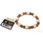 Bracelet Perles de karma Jaspe ( Adulte )  21880 (2)