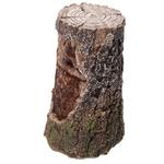 Sorcier sculpté bois éclairé par LED  DRG367 (2)