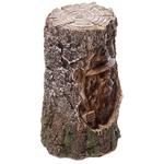 Sorcier sculpté bois éclairé par LED  DRG367 (4)