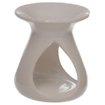 Brûleur à Huile Céramique Blanc - piliers goutes  OB115B (3)