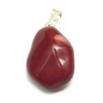 Pendentif - Jaspe Rouge (2 cm)  9045 (7)