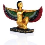 FIGURINE DÉESSE ISIS DÉPLOYÉE EGYPTE (15 CM) (2)