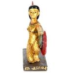 FIGURINE DÉESSE ISIS DÉPLOYÉE EGYPTE (15 CM)