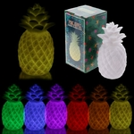 ANANAS COLOR LEDS CHANGEANTE (HAUTEUR 17CM)  LED12 (2)