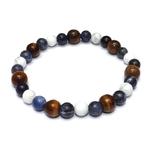 Bracelet Hoya Oeil de Tigre - Sodalite - Howlite (4)