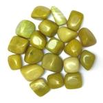 Jade Citron de Chine roulée (2 cm) (2)