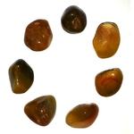 Agate feux pierre roulé naturelle (2)