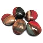 Jaspe Polychrome Galets Pierres Amulettes (3 à 5 cm) lot de 5 (1)