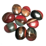 Jaspe Polychrome Galets Pierres Amulettes (3 à 5 cm) lot de 5 (2)