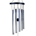 Carillons à vent 5 tubes Ying Yang (70 cm) (2)