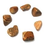 Jaspe Paysage pierre Roulée (2,5 cm) (3)