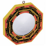 Miroir Feng Shui Bagua concave (13 cm) (2)