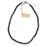 Collier Sodalite - perles 6 mm (2)
