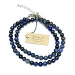 Collier Sodalite - perles 6 mm (1)