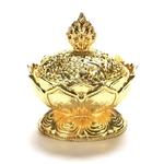 Brûle encens Lotus couleur Or (2)