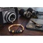 Bracelet oYa Jaspe Paysage et Pierre de Lave fabrication artisanal fait main de la marque oYa véritable pierre naturelle lithothérapie bien etre perles de 6 mm et 8 mm (6)