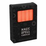 Boîte de 12 bougies de sorcellerie oranges-rituel-sort-confiance