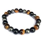 bracelet-oeil-tigre-obsidienne-hematite-perles-8mm-protection-energie-naturel