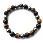 bracelet-oeil-tigre-obsidienne-hematite-8mm-protection-energie-pierre-naturel