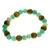 Bracelet Perles de karma Aventurine ( Adulte )  17668