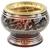 Brûle encens Bordeau - motifs dorés  16098