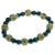 Bracelet Perles de karma Hematite ( Adulte )  17667