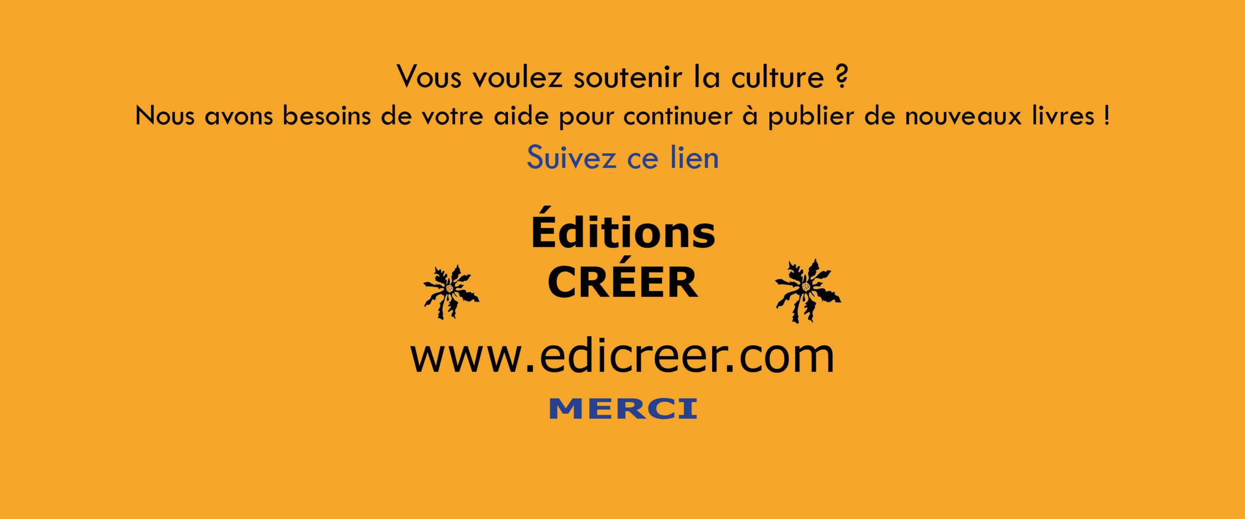Cagnotte éditions CRÉER