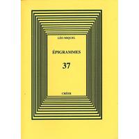 ÉPIGRAMMES 37