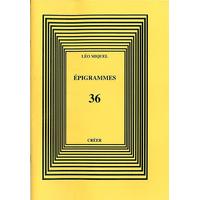 ÉPIGRAMMES 36