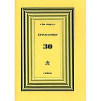 ÉPIGRAMMES 30