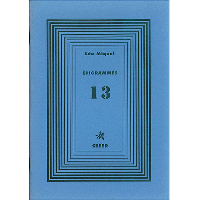 ÉPIGRAMMES 13