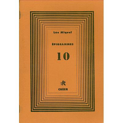 ÉPIGRAMMES 10