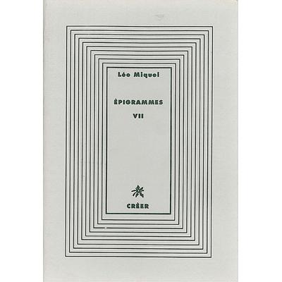 ÉPIGRAMMES VII