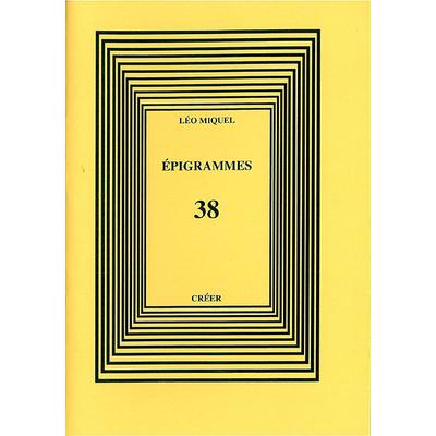 ÉPIGRAMMES 38