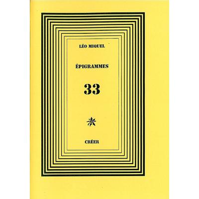 ÉPIGRAMMES 33