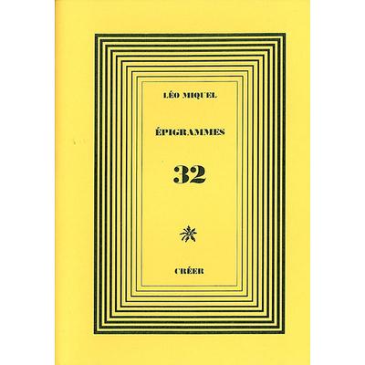 ÉPIGRAMMES 32