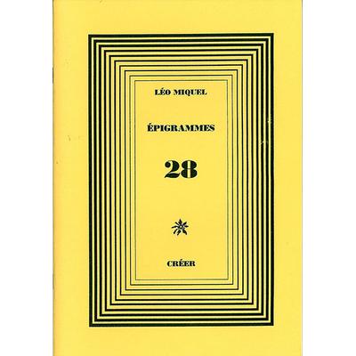 ÉPIGRAMMES 28
