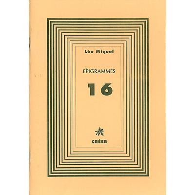 ÉPIGRAMMES 16