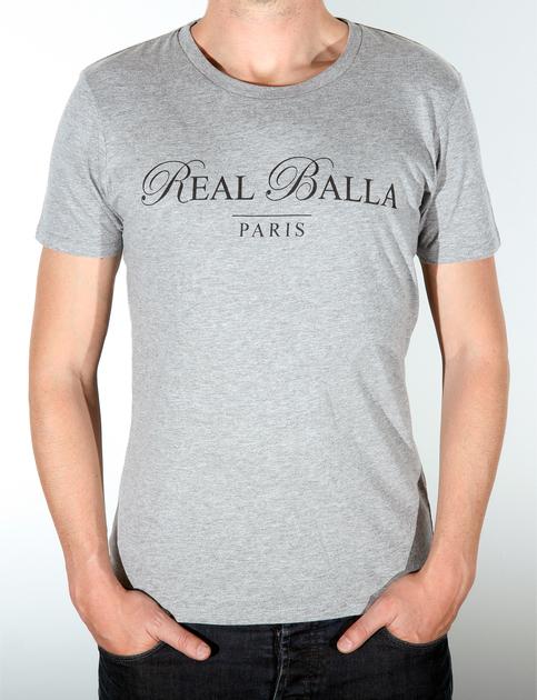 Tshirt gris logo