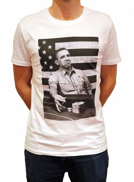 Tshirt Col rond Obama