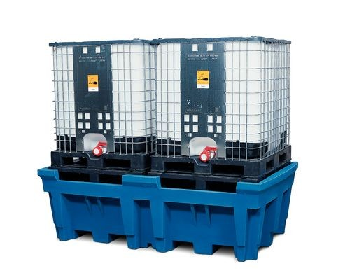 Bac de rétention pour 2 cuves de 1000 litres