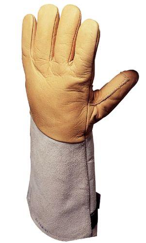 Gants anti froid en cuir, taille 10
