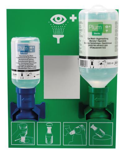 Station d\'intervention pour soins oculaires